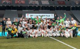 Altay Süper Lig'e yükseldi! 18 yıllık hasret bitti