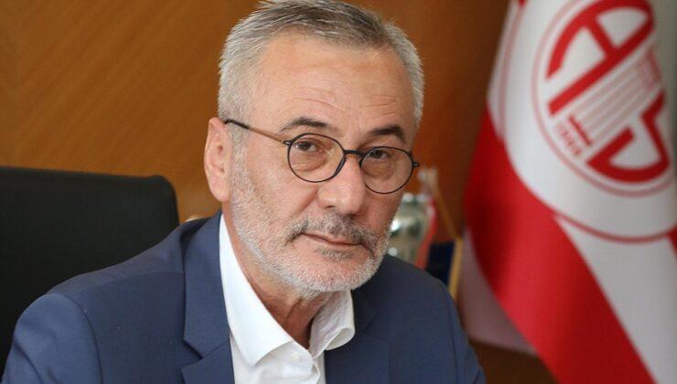 Antalyaspor Başkanı Yılmaz 3 ay sonra görevi bıraktı
