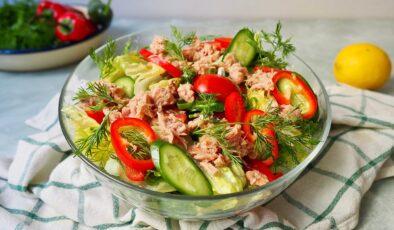 Ton balıklı enginarlı salata nasıl yapılır? Ton balıklı enginarlı salata tarifi