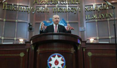 Erdoğan: Kalıcı barışa giden yol, iş birliklerinden geçiyor