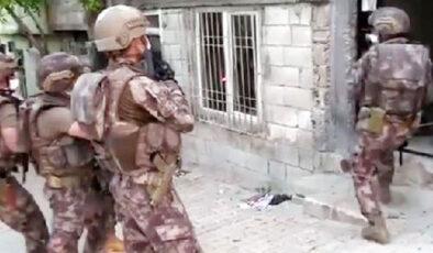Son dakika Gaziantep'te 657 polisle uyuşturucu operasyonu!