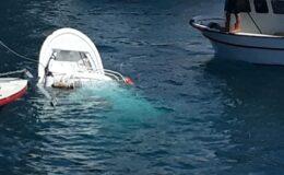 İstanbul'da gemi ile balıkçı teknesi çarpıştı! 1 ölü