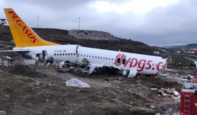 Pistten çıkan 2 uçakla ilgili kaza raporları hazırlandı