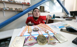 Mehmet Aslan, Türkiye Şampiyonası'nda Bursa'nın gururu oldu