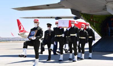Şehit Teğmen Ali Rıza Özcücük, memleketine getirildi