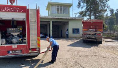 Gaziantep, Osmaniye'deki yangına ekibiyle destek verdi