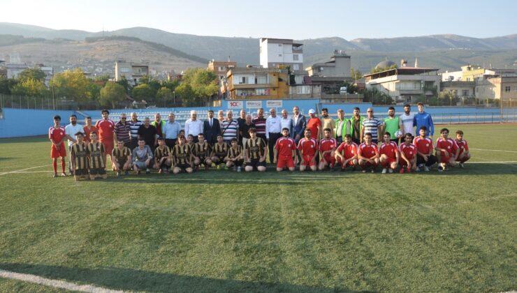KAMED uyuşturucu maddeye futbolla 'hayır' dedi