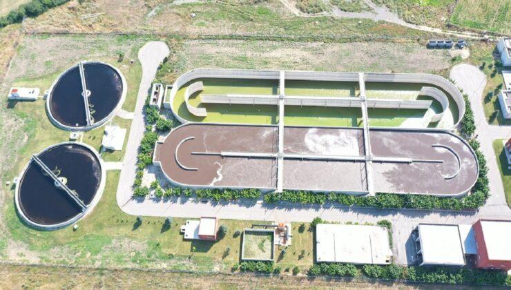 Trakya'nın ilk biyolojik arıtma tesisi yılda yaklaşık 7 milyon ton suyu arıtıyor