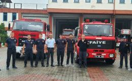 Kocaeli 2 araç, 8 personelle Manavgat'a gidiyor
