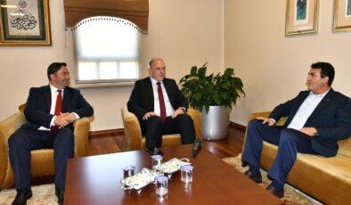 Kosovalı Bakan'dan Bursa Osmangazi'ye kardeş ziyareti