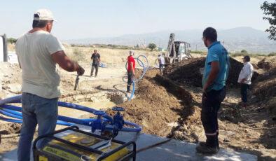 Manisa Alaşehir'e yeni sondaj kuyusu