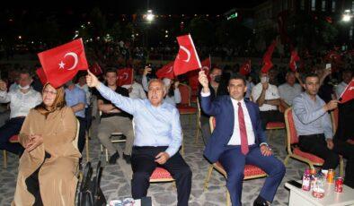 Mardin Yeşilli'de 15 Temmuz törenleri düzenlendi