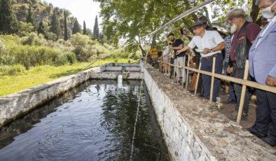 Başkan Tunç Soyer, Gediz Nehri'ne dikkat çekmek için Uşak'ta