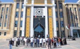 Van Tuşba Belediyesinde bayramlaşma