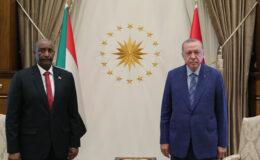 Cumhurbaşkanı Erdoğan, Sudan Devlet Başkanı'nı ağırlıyor