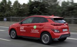 Hyundai KONA Electric, menzil rekoru kırdı