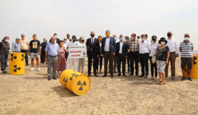 İzmir Gaziemir'den 'nükleer tepki'ye devam