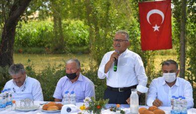 Kayseri Büyükşehir'den Develi'ye yatırım