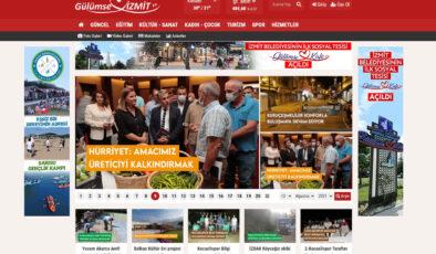 Kocaeli'de İzmit Belediyesi'nden haber portalı