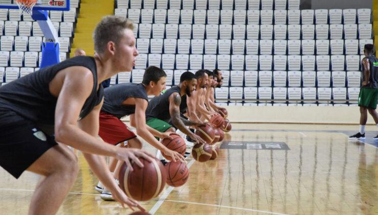 Manisa Büyükşehir'den basketbol antrenmanına ziyaret