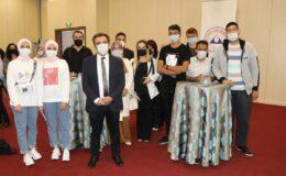 TURKOVAC Proje Lideri ERÜ'de aday öğrenciler ile buluştu