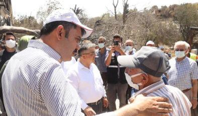 """Bakan Kurum: """"Hiçbir vatandaşımızın gözünü yaşlı bırakmayacağız"""""""
