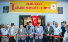 Malatya Dedeyazı'ya Kültür Merkezi ve Cemevi açıldı