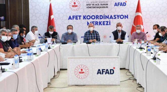 Bakan Soylu'dan Bozkurt'ta AFAD toplantısı