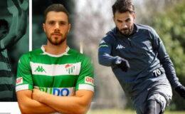 Bursaspor'da Hasan ve Aykut yeniden A Takım'da