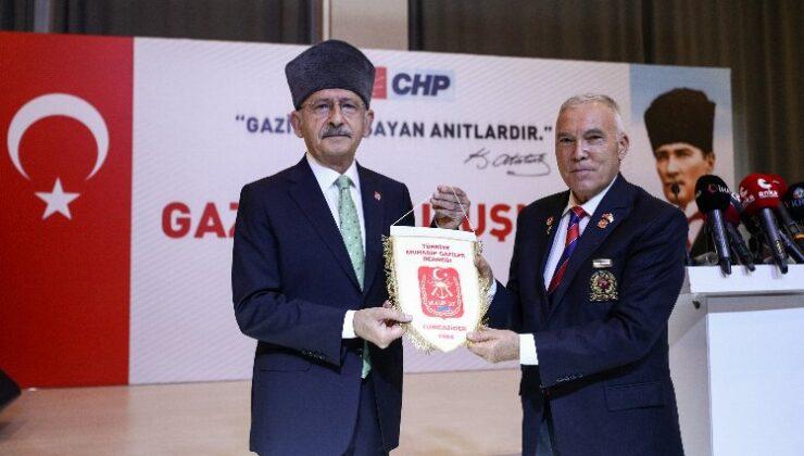 CHP lideri Kılıçdaroğlu, gazilerle buluştu