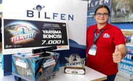 COVAR-19 robotu Bilfen'e ikincilik getirdi