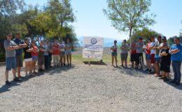Muğla'da engeller kalktı! Fethiye İnlice Plajında 2 gece kamp yaptılar