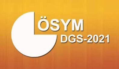 2021 DGS sonuçları sorgulama ÖSYM sonuç sayfasında! DGS sonucu nasıl öğrenilir?