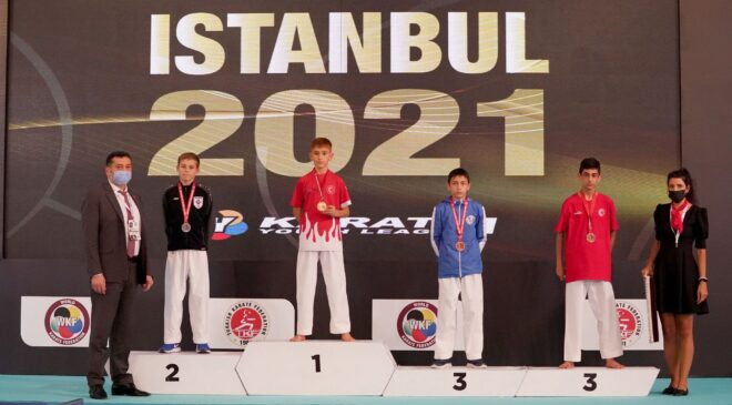Vanlı karateci Emirhan dünya birincisi oldu